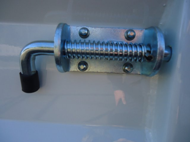Drop Side Spring Bolt Lock